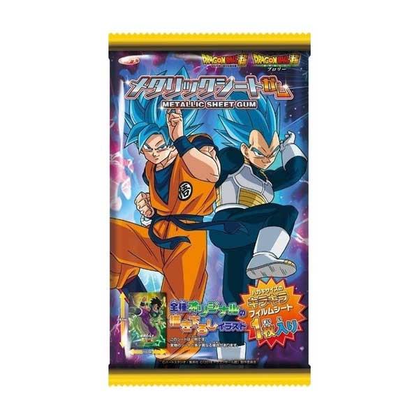 Metalic Sheet Gum - Dragon Ball | Oishi Market
