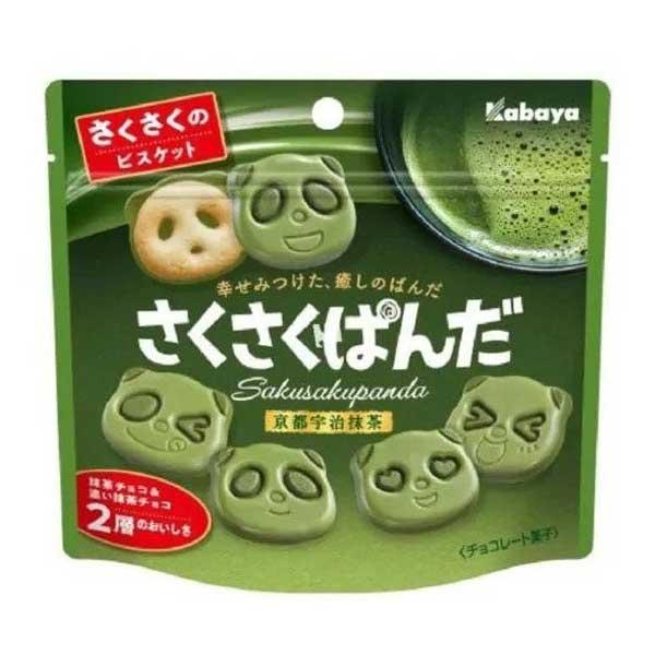 Sakusaku Panda - Matcha | Oishi Market