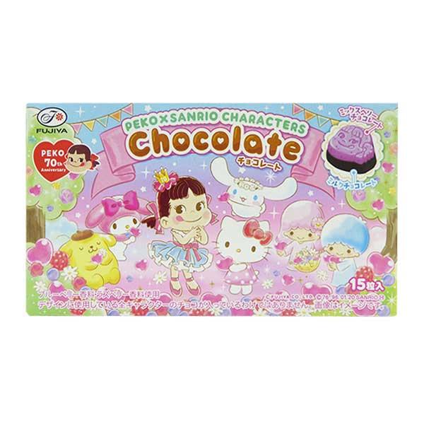 Peko & Sanrio Characters Chocolate - Mix Berries   Oishi Market