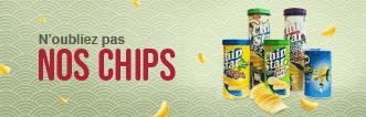 Chips en provenance du Japon