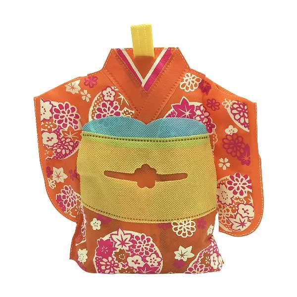 Fukuro Kimono Orange   Oishi Market