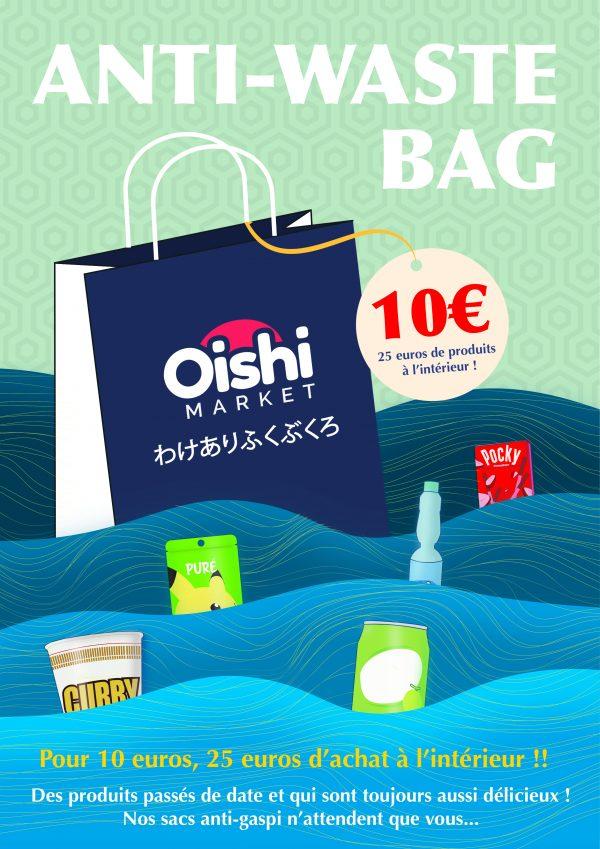 Sac Anti Gaspillage | Oishi Market
