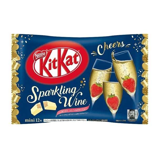 Kit Kat - Fraise & Vin pétillant | Oishi Market