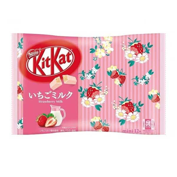 Kit Kat - Lait à la Fraise   Oishi Market