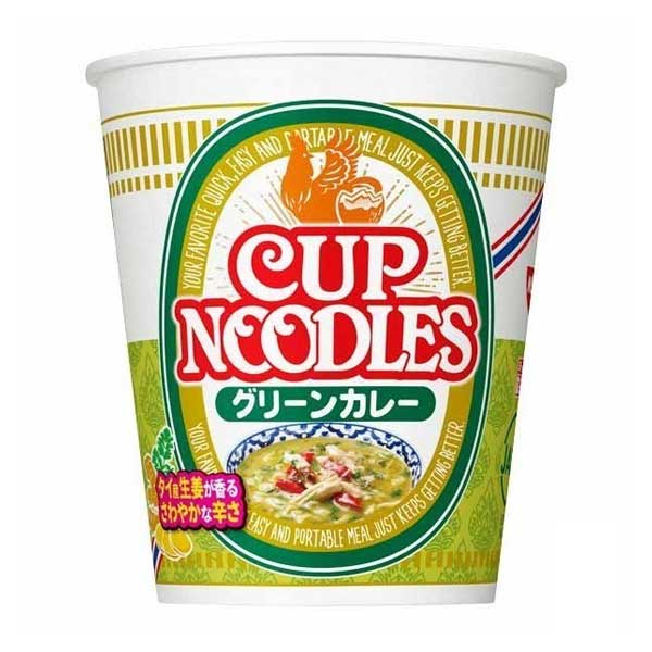 Cup Noodle - Green Curry Ginger   Oishi Market