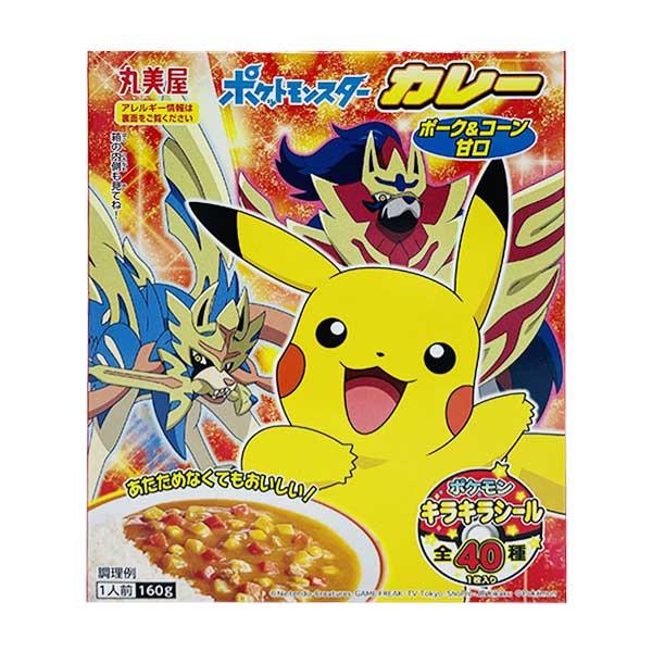 Curry Pokemon - Porc & Légumes - Doux   Oishi Market