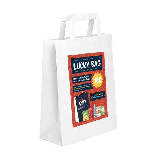 Les sacs de la chance par l'épicerie Japonaise Oishi Market