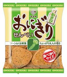Onigiri Senbei - Wasabi | Oishi Market