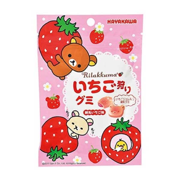 Rilakkuma - Gummy Fraise   Oishi Market