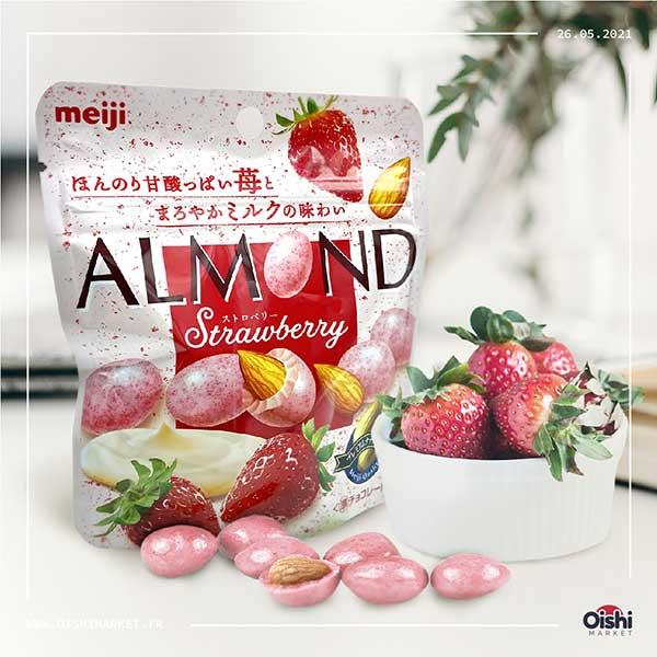 Almond - Strawberry   Oishi Market