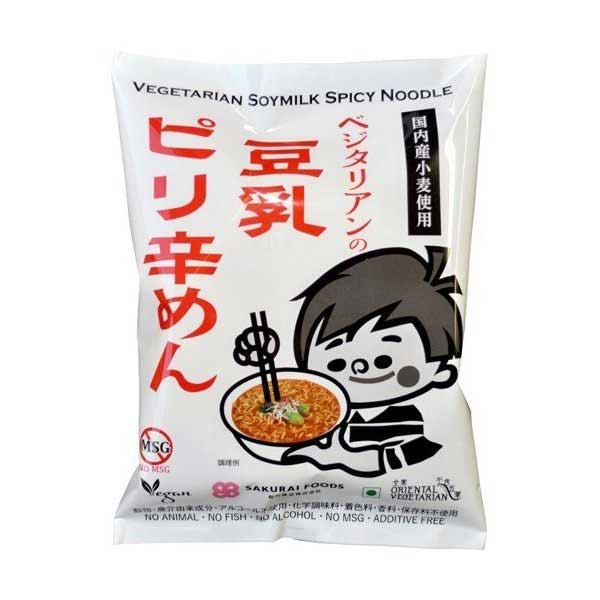 Ramen Végétarien - Spicy Soymilk | Oishi Market