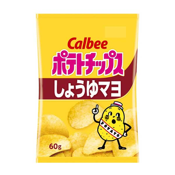 Chips Calbee - Sauce Soja & Mayo | Oishi Market
