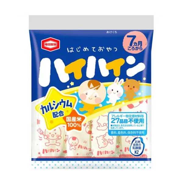 Hai-Hai Soft Rice Cracker for Baby (à partir de 7mois)   Oishi Market