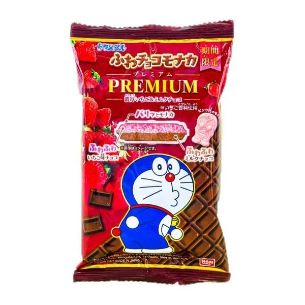 Doraemon Choco Monaka - Premium Fraise   Oishi Market