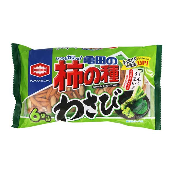 Kaki no Tane - Wasabi - 6 packs | Oishi Market