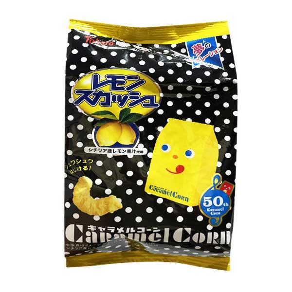 Caramel Corn - Lemon Squash   Oishi Market