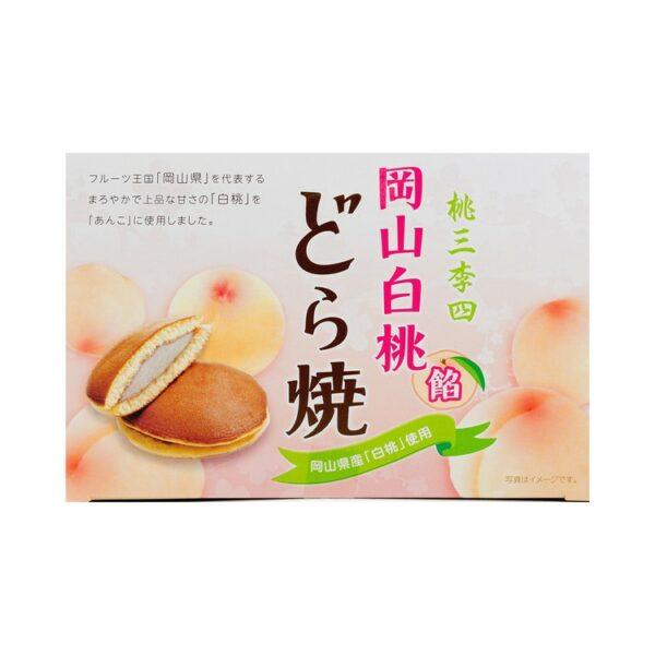 Dorayaki Box - Pêche Blanche | Oishi Market